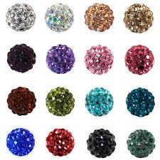 shamballa beads bracelet images Buy 100pcs 10mm shamballa beads crystal disco jpg