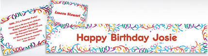 custom happy birthday invitations party city
