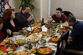 vinny guadagnino and host a pre thanksgiving spread ny