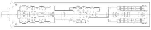 titanic floor plan file titanic a deck plain png wikimedia commons