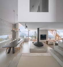 deco chalet de montagne un minimaliste et éclectique design intérieur pour ce chalet de