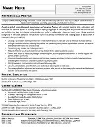 Resume For A Teacher Job by Corporate Trainer Resume For Teachers Sales Teacher Lewesmr