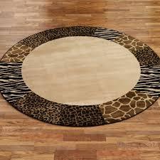 Black Circle Rug Flooring Lovely Leopard Rug Print Design U2014 Gasbarroni Com