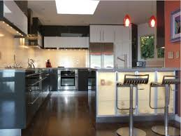 Red Lacquer Kitchen Cabinets Kitchen Comfortable Kitchen Sink Design Ideas Minimalist