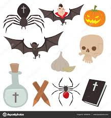 cartoon dracula vector coffin symbols vampire icons character