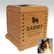 dog urns personalized pet urn dog breed image