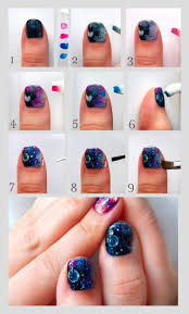 top 25 best galaxy nails tutorial ideas on pinterest galaxy