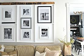 Home Decor Photo Frames I Made A Built In Picture Frame Ledge Hometalk