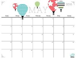 printable monthly planner 2016 free free cute calendars printable cute calendars 2016 calendar with cute