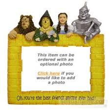four friends from br the wizard of oz collection picture frames