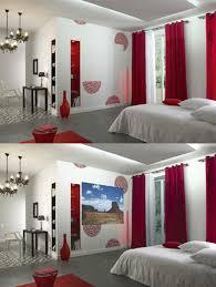 Idee Peinture Pour Salon by Indogate Com Chambre Mur Gris Et Rouge