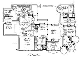 5 bedroom floor plans 2 story grand double staircase house floor
