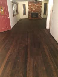 Laminate Flooring Before And After How To Refinish Hardwood Floors After Removing Laminate Tiles