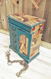 Shabby Chic Jewelry Armoire by Jewellery Armoire Vintage Jewellery Box Jewellery Mini Drawers
