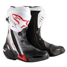 white motorcycle boots alpinestars supertech r motorcycle boots ebay