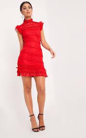 lace dresses lace dress prettylittlething usa