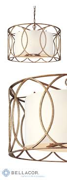 sausalito 25 wide silver gold pendant light troy sausalito five light drum pendant troy lighting wrought iron