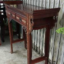 altar table for sale used rosewood altar table for cheap sale furniture on carousell