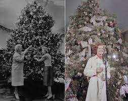 white house christmas tree 1984 u0026 betty ford 1974 photos