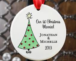 personalized wedding ornament our ornament