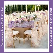 wedding chair covers wholesale awesome c009c wholesale curly willow gold ruffled wedding chair