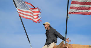 American Flag Regulations Colorado U0027flag Man U0027 Lives In A Hole In The Ground