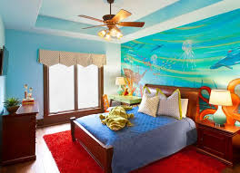 Ocean Themed Kids Room by How To Turn Your Bedroom Into An Underwater Themed Space