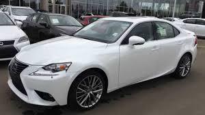 toyota lexus brand new brand new white on black 2015 lexus is 250 sport sdn awd luxury