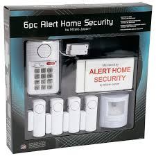 mitaki japan battery operated 6pc home security system elalert6