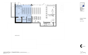 Public Floor Plans by Liberty Public Library Building Plans Lower Level U0026 Program Room