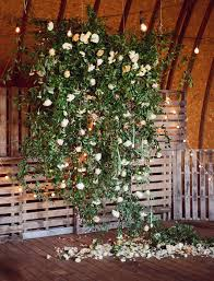 Foliage Flower - bohemian farm to table wedding inspiration backdrops flower and