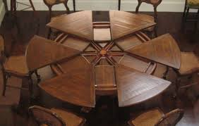 Round To Oval Dining Table Download Round Dining Room Tables With Leaf Gen4congress Com