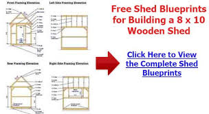 Diy Wood Storage Shed Plans by Storage Shed Plans 10 12 Free Learn How To Build A Shed On A