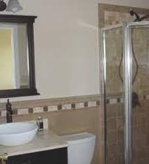 bathroom tile chair rail below u0026 above rail home tips for women
