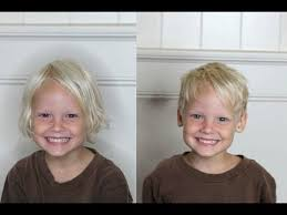 toddler boy long haircuts how to cut a boys haircut easy kids haircutting at home youtube