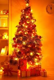 lighted christmas tree stock photos u0026 pictures royalty free