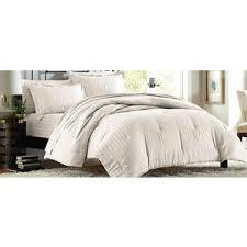 Comforter Thread Count Cannon 300 Thread Count Damask Stripe Comforter Set U2013 Ivory
