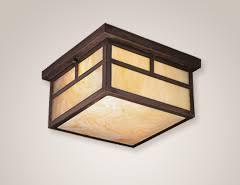 Craftsman Style Ceiling Light Peaceful Design Mission Style Ceiling Lights Kichler Lighting