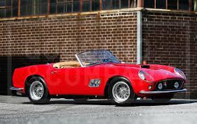 Ferrari California 1960 - gooding u0026 company u0027s pebble beach auctions to feature exquisite