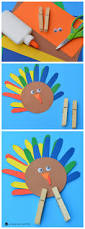 handprint turkey craft the kindergarten connection