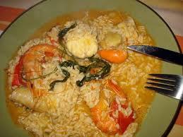 recette de ragoût de riz à la lotte recette portugaise arroz de