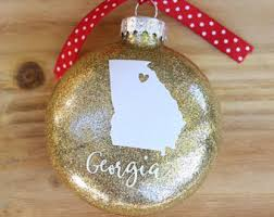 state ornaments etsy