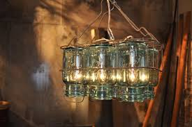 Diy Large Chandelier 11 Fun Ways To Decorate With Mason Jars And Wine Bottles Diy