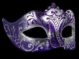 purple masquerade mask masquerade mask in stella silver purple