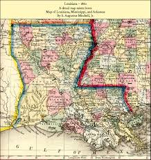 Map Of Louisiana by Louisiana State Maps 1743 1907