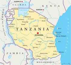 Map Of Tanzania Africa by Tanzania Flag Colors Tanzania Flag Meaning U0026 History