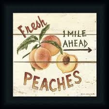 fresh peaches by david carter brown art print framed u0026 unframed