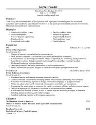 Federal Jobs Resume Keywords by Best Public Affairs Specialist Resume Example Livecareer