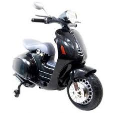 siège moto bébé moto electrique 12v style vespa noir cabriole bébé
