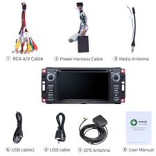 android 6 0 oem radio gps installation for 2009 2010 2011 jeep